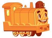 Yellow Train Engine